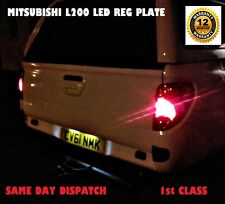 MITSUBISHI L200 LED BULBS NUMBER LICENSE PLATE T10 W5W 12 mths Warranty