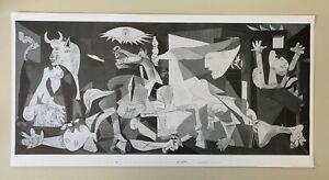 PICASSO,'GUERNICA,1937' RARE AUTHENTIC 2006 ART PRINT