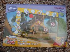 """WINNIE POOH PUUH * Spiel * """"Wo sind Tigger und Pooh?"""" * NEU * Holz * Eichhorn"""