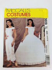 McCall's 3609 Antebellum Underwear Hoop Petticoat Size 4, 6, 8, 10 History UNCUT