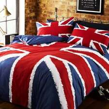 Union Jack Single Duvet Cover Set - UK England Great Britain Flag Bedding NEW