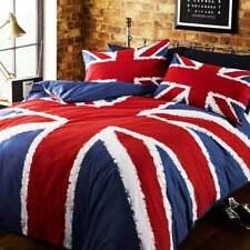 Union Jack Single Duvet Cover Set - UK England Great Britain Flag Bedding NEW