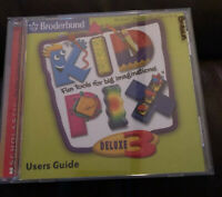 Kid Pix Deluxe 3 2003 Educational PC Video Game - XclusiveDealz