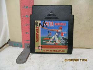 NINTENDO ENTERTAINMENT SYSTEM CARTRIDGE , R.B.I. BASEBALL - UNTESTED