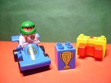 Lego Duplo Rennwagen mit Katapult