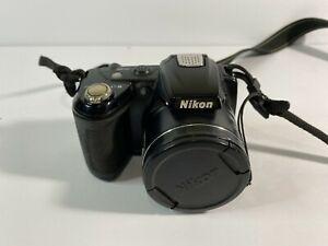 Nikon COOLPIX L310 14.1MP Digital Camera - Black + Nikon Strap