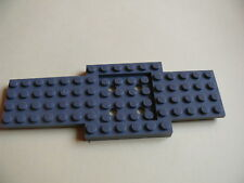 Lego 1 chassis gris fonce bluish 4999 60008 41056 7638 / 1 dark bluish car base