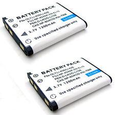 2x 3.7v Battery for PENTAX 39587 D-Li63 D-Li108 D-BC108 D-BC108B D-BC63 K-BC63U