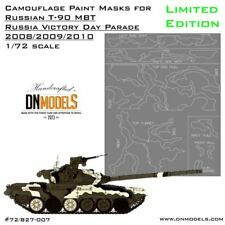 1/72 Russian MBT T-90A [Limited Edition] Camouflage Paint Masks for Zvezda #5020