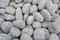 Gletscher Kies Royal 10-20 mm, Granit grau, 20 kg Sack, Gabionenfüllung Gabione