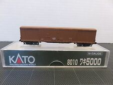KATO 8010 N Scale Gauge Train WAGON BOX CAR 5000