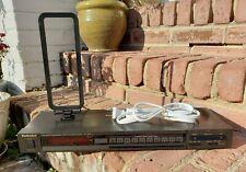 Technics ST-S78 Digital AM/FM Stereo Tuner TESTED WORKING w/AM Antennae!!!