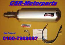 BMW F 650 GS Auspuff Schalldämpfer muffler Endtopf Giannelli Arrow ABE NEU E8GS