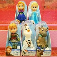 Disney Mini Toddler Dolls FROZEN SET Elsa Anna Olaf Kristof Sven ✨ Lot Of 5
