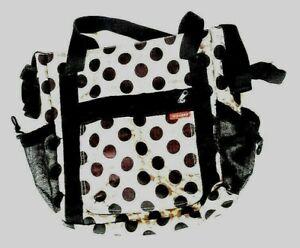 Skip Hop Signature Brown Blossom Floral Baby Diaper Shoulder Body Bag