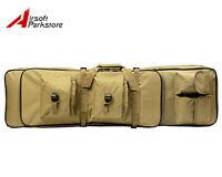 "38""/100CM Tactical Military Heavy Duty Gun Rifle Carrying Case Bag Backpack Tan"