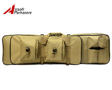 "38""/100CM Tactical Military Heavy Duty Gun Rifle Carrying Case Bag Backpack Tan"