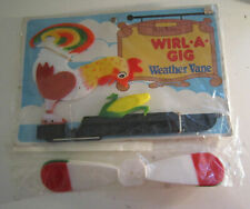 Vintage Wirl A Gig - Rooster and Corn Art Line