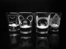 Adventure Time Shot Glass Set- Jake- Finn- Lumpy Space Princess- Beemo-