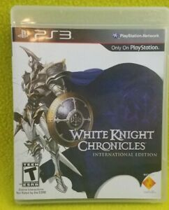 White Knight Chronicles International Edition Sony PS3 Tested and Works Rare
