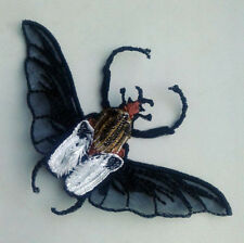 Beetle Goliath Insect Embroidered Patch Sew-On Applique For Dress Jeans