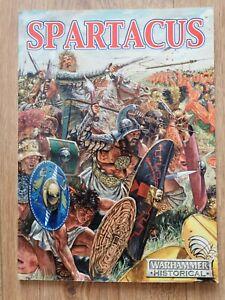 SPARTACUS WARHAMMER HISTORICAL WARGAMES RULEBOOK