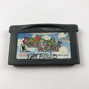 Super Mario Advance Nintendo GameBoy Advance GBA w/Case
