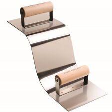 "Kraft Tool Concrete Curb & Gutter Trowel 3"" Radius 6173"