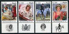 Angola Royalty Stamps 2019 MNH Princess Diana Famous People 4v Set