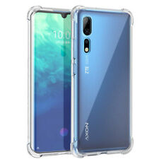 For ZTE Axon 10 Pro 5G Caseswill Shockproof Flexible Rubber TPU Clear Case Cover