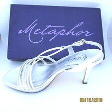 Metaphor Verena Ladies Formal Sandals 38481 Silver 85 M