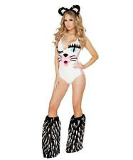 EDM Rave Plur Cute Sexy Cat Costume Halloween Dressup Adult Female Women