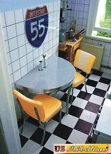 wo-12 Set table 2 chaises USA BEL AIR salle à manger dîner meubles de cuisine