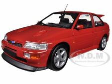 1992 FORD ESCORT RS COSWORTH RED 1/18 DIECAST CAR MODEL BY MINICHAMPS 150089021