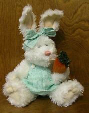 Boyds Plush #916501 Juniper Bunnyhugs, Easter NEW/Tag From Retail Store, Jointed