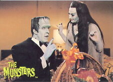 THE MUNSTERS ALL NEW SERIES 2 1997 DART PROMO CARD P2 TV
