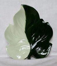 GRANDE design Australiano carltonware Green & White piatto foglia