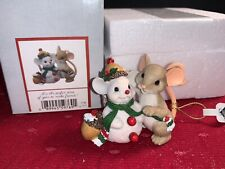 """Charming Tails�It's A Perfect Time To Make Friends"""" Dean Griff Nib Christmas"""