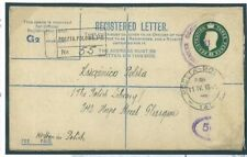 O212 1945 GB Military Polish Forces in Egypt Registered Envelope WW2/GB Scotla