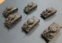 Flames of War FoW  Lot British Sherman V Platoon X6 Pro-Painted 15mm