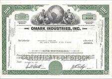 OMARK INDUSTRIES INC......1965 STOCK CERTIFICATE