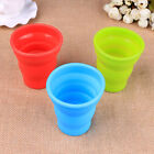 Multi-color Silicone Retractable Folding Cup Telescopic Collapsible Travel Cup