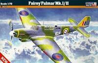 FAIREY FULMAR Mk.I/II (BRITISH FAA & FRENCH/VICHY MARKINGS)D217 1/72 MISTERCRAFT
