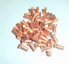 Senknieten 50 Stück Kupfernieten Vollnieten Nieten DIN 661  3x8