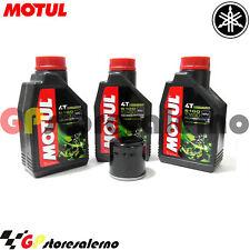 TAGLIANDO OLIO + FILTRO MOTUL 5100 10W30 YAMAHA 600 XJ6 DIVERSION ABS 2016