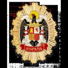 Cartera porta placa con placa del Aguila de San Juan - Franco