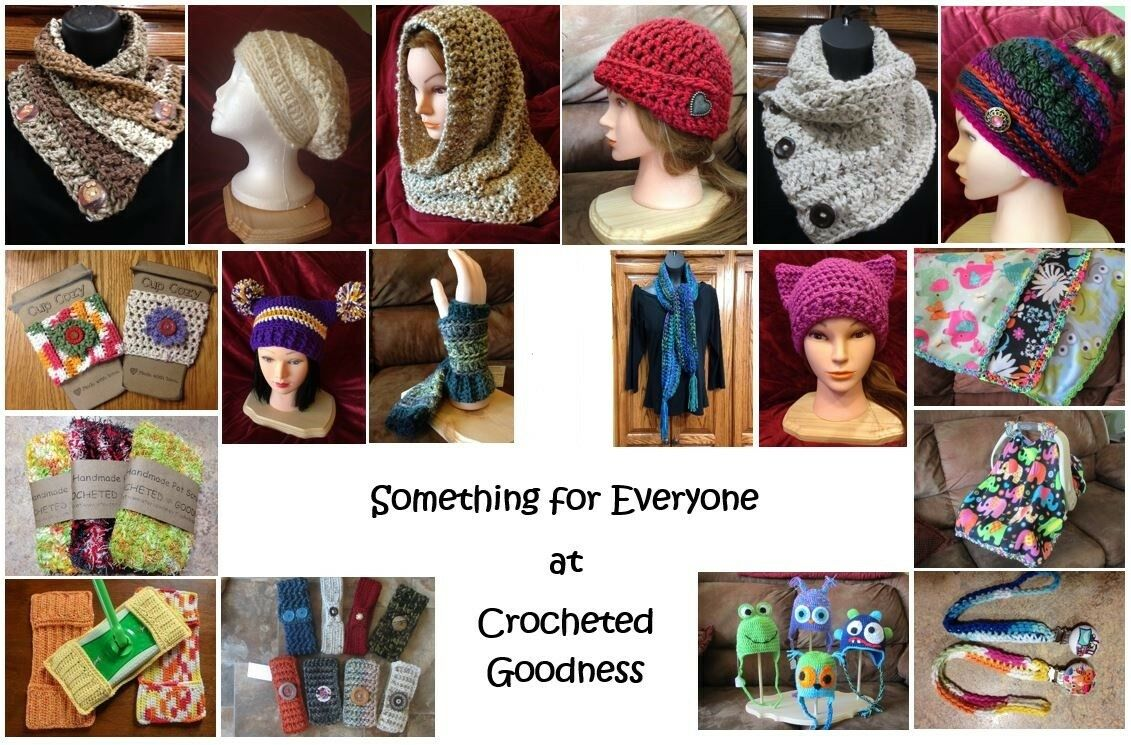 Crocheted Goodness and Books