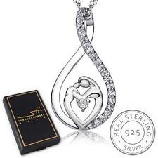 Muttertag Halskette | 925 Sterling Silber Damen | im Etui | Schmuckhandel Haak®