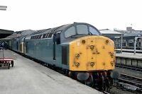 British Rail 40084/40086 Silver Jubliee Railtour York 05/03/83 Rail Photo f