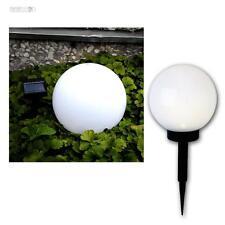 LED Lámpara redonda ø20cm, solar Jardín de